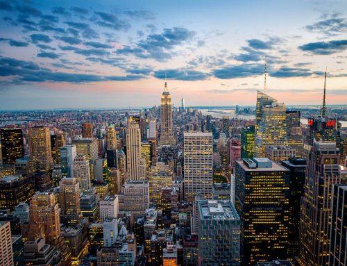 NYC-panorama depuis rockfeller