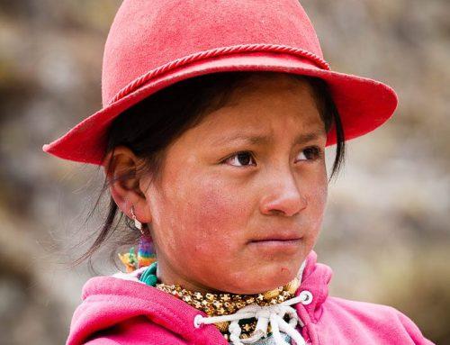 Equateur-portrait enfant quechua