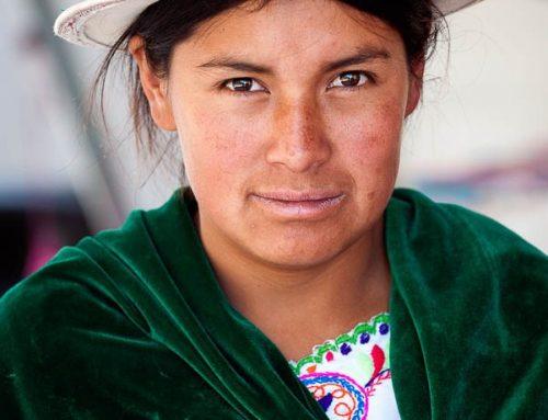 Equateur-portrait femme quechua